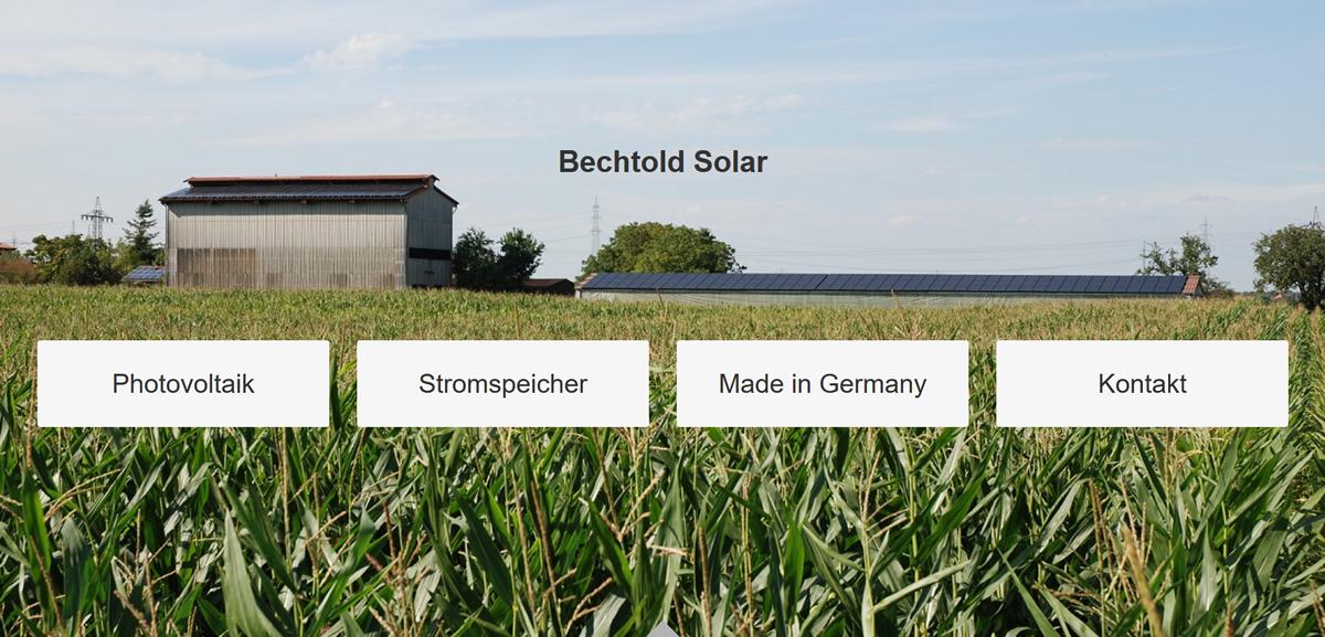 Solaranlage Frettenheim | ☀ BECHTOLD ➤ Photovoltaikanlage & ✓ Solarzellen